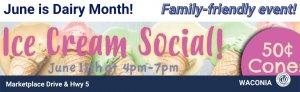 Ice Cream Social event 2021